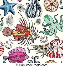 modèle, deepwater, seamless, organismes