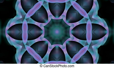 modèle fleur, seamless, kaleidoscop