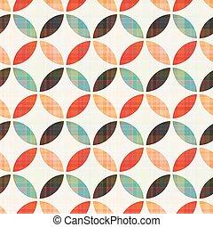 modèle, géométrique, seamless, circulaire