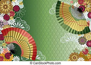 modèle, japonaise, traditionnel