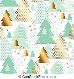 modèle pastel, arbre, seamless, tendre, noël