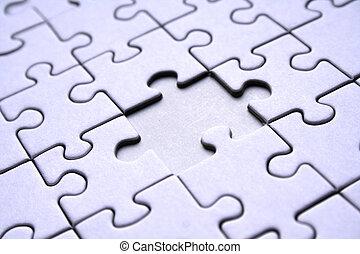 modèle, puzzle