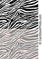 modèle, répété, seamless, zebra