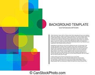 modèle, résumé, arrière-plan., vecteur, géométrique, minimal, design.