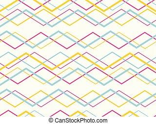 modèle, résumé, lignes, géométrique