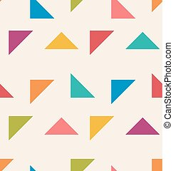 modèle, tria, seamless, coloré