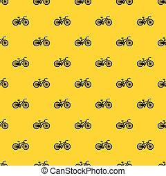 modèle, vecteur, vélo