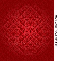 modèle, (wallpaper), seamless, rouges