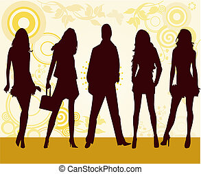 mode, filles