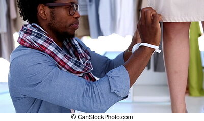 mode, fonctionnement, robe, concepteur