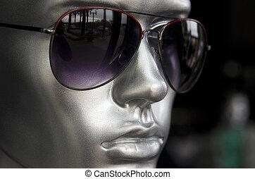 mode, lunettes soleil, mens