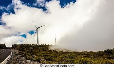 moderne, éoliennes