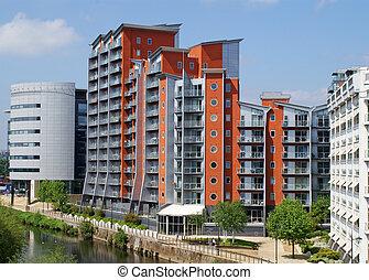 moderne, appartements
