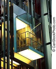 moderne, ascenseur