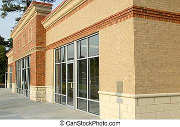 moderne, centre commercial