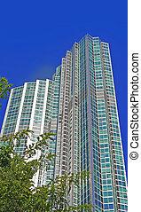 moderne, condominium