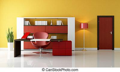 moderne, espace bureau