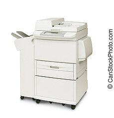 moderne, imprimante, numérique