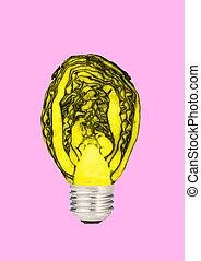 moderne, naturel, collage., energy., contemporain, art, design.