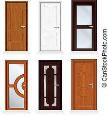 moderne, portes
