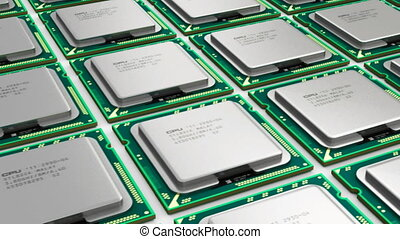 moderne, processeurs