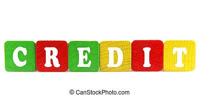 modules, bois, texte, -, isolé, crédit
