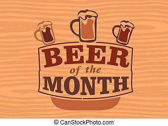 mois, bière