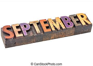 mois, type, septembre, bois