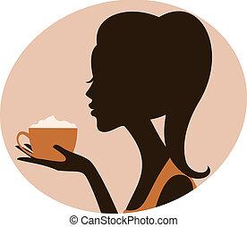 moment, cappuccino