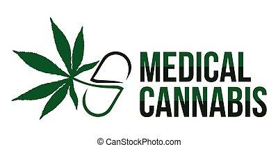 monde médical, cannabis, vecteur