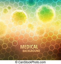 monde médical, fond