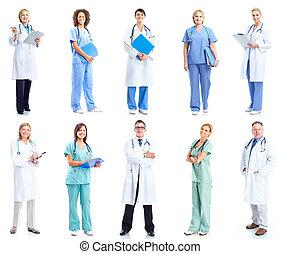 monde médical, groupe, doctors.