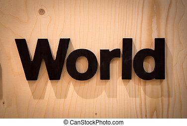 mondiale, bois, type