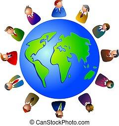 mondiale, cadres
