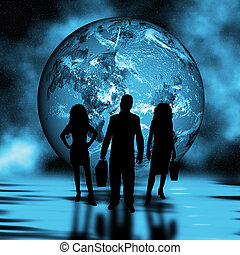 mondiale, commerce