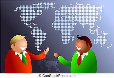 mondiale, communications
