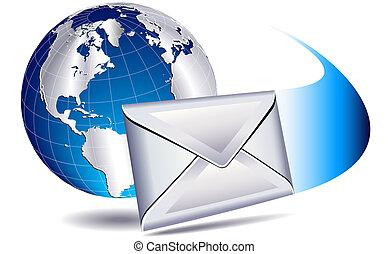 mondiale, publipostage, email