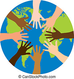 mondiale, sur, diversité