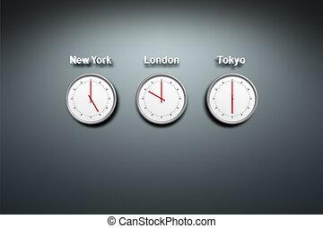mondiale, temps