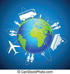 mondiale, transport