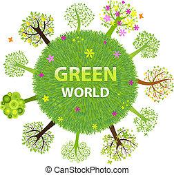 mondiale, vert