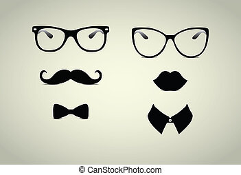 monsieur, hipster, dame, icohs