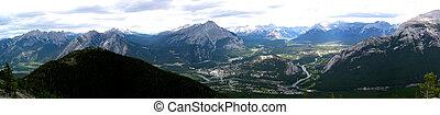 montagne, 3, panoramique