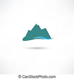 montagnes bleues, symbole