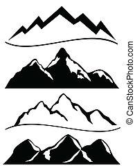 montagnes, divers