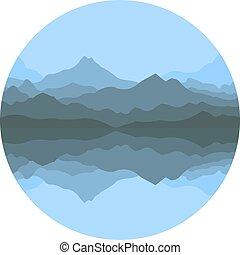 montagnes, résumé, brouillard