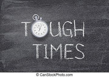 montre, dur, temps