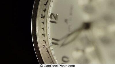 montre, horloge, macro, figure