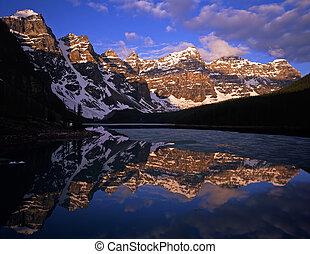 moraine lac