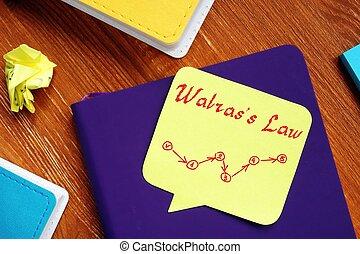 morceau, définition, droit & loi, paper., signe, walras's